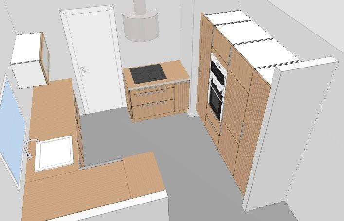 Ikea cuisine 3d conception