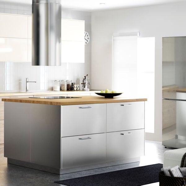cuisine ikea metod inox tout sur la cuisine et le mobilier cuisine. Black Bedroom Furniture Sets. Home Design Ideas