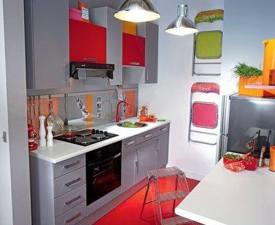 modele de cuisine petite surface