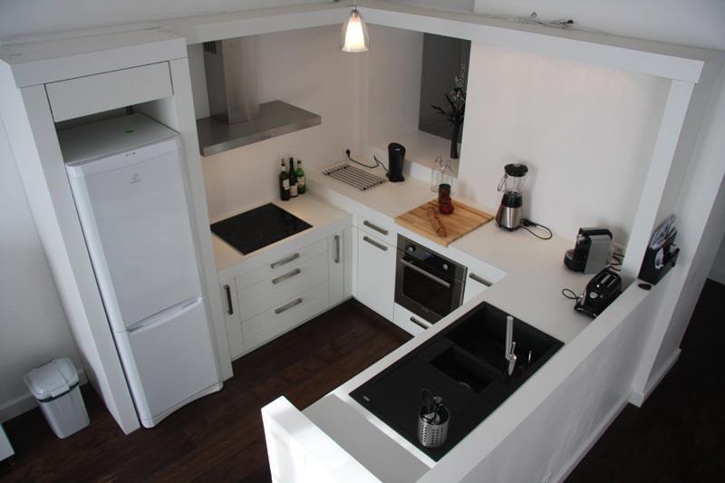 Plan petite cuisine en u tout sur la cuisine et le mobilier cuisine - Plan cuisine en u ...