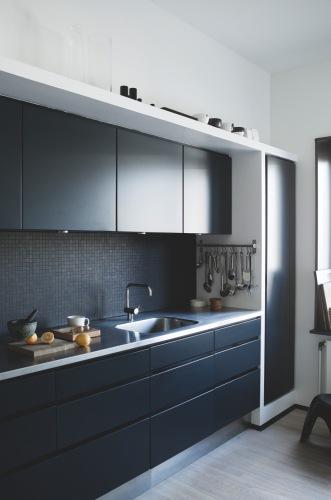 Meuble cuisine noire ikea