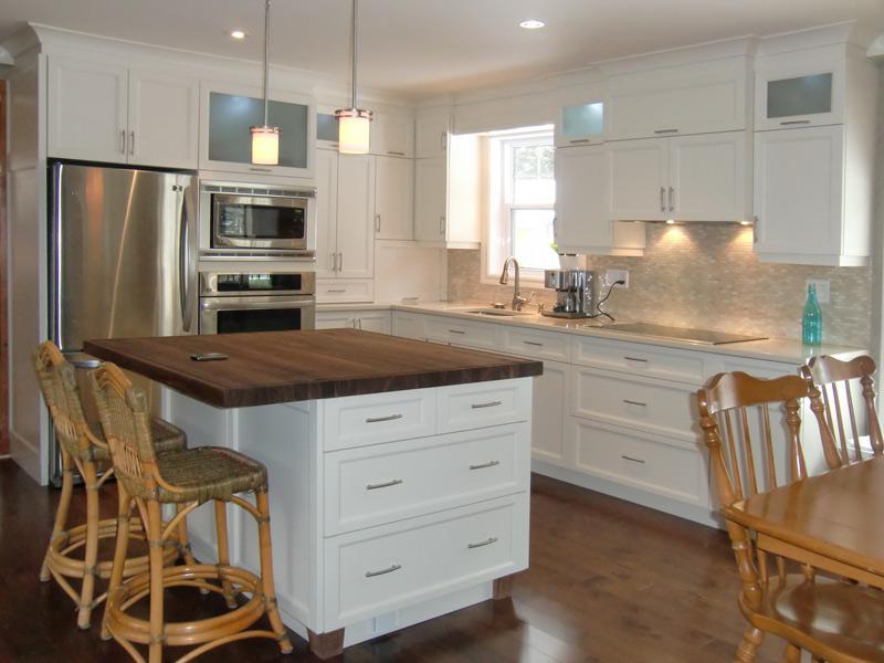 Prix armoire cuisine tout sur la cuisine et le mobilier cuisine - Meuble shaker ...