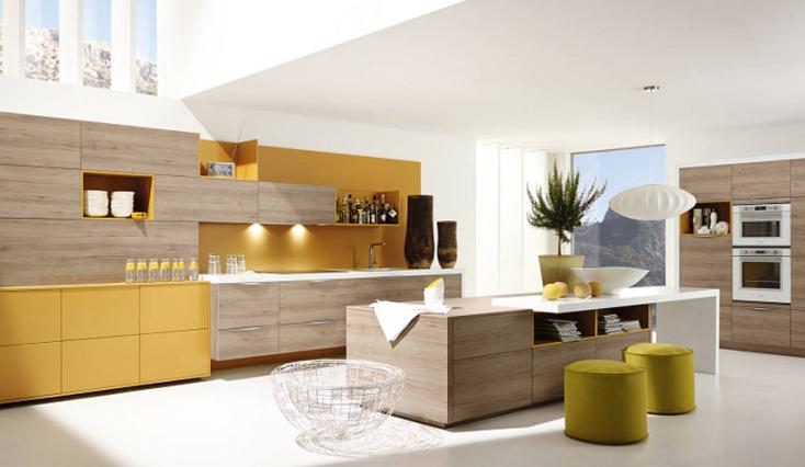 Peinture pour cuisine jaune tout sur la cuisine et le Peinture cuisine jaune