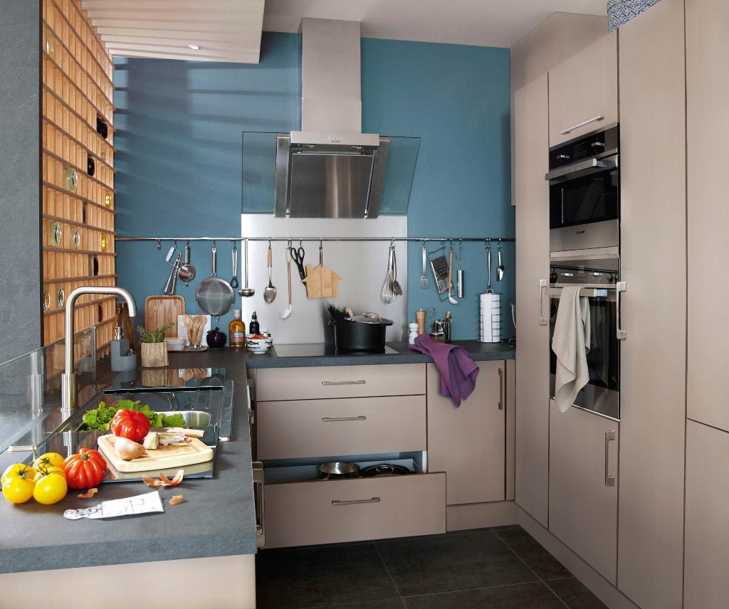 Deco petite cuisine fermee - Tout sur la cuisine et le mobilier cuisine