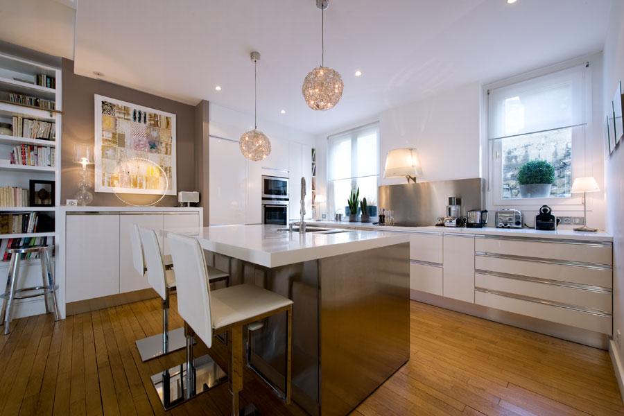 Plan cuisine ouverte 10m2 tout sur la cuisine et le - Plan amenagement cuisine 10m2 ...