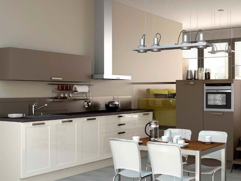Couleur Mur Cuisine Blanche Et Grise meuble cuisine beige