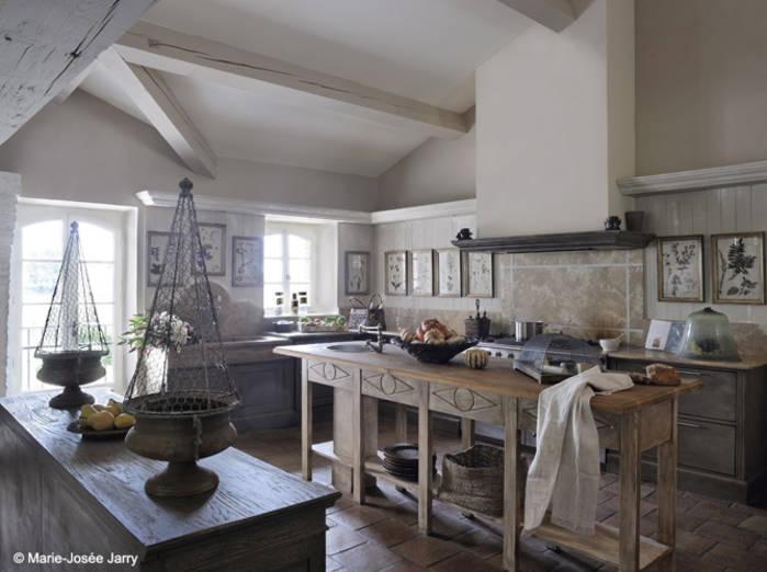 Modele cuisine campagne chic - Tout sur la cuisine et le ...