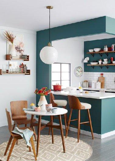 Idee deco salon cuisine ouverte 20m2 - Tout sur la cuisine et le ...