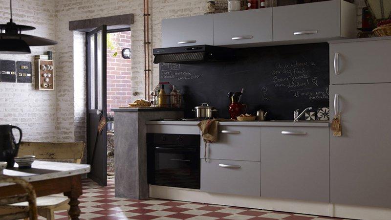 Plan d'aménagement pour une petite cuisine