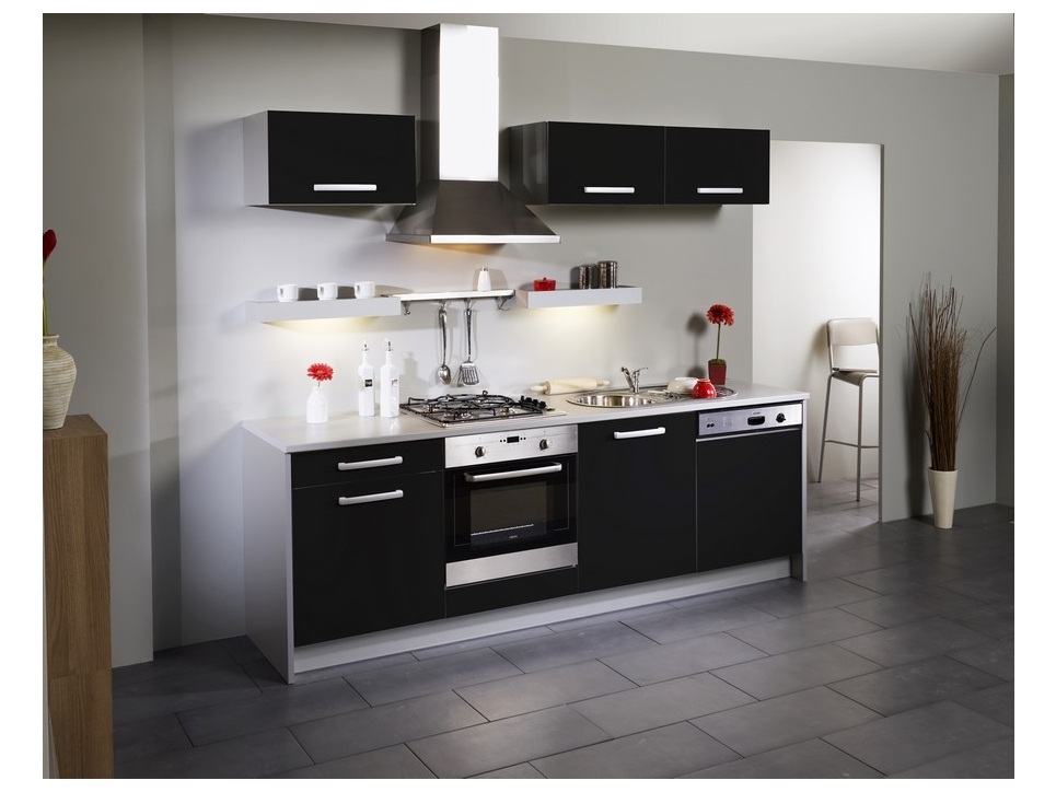 Meuble de cuisine noir pas cher tout sur la cuisine et le mobilier cuisine - Meuble de cuisine noir pas cher ...