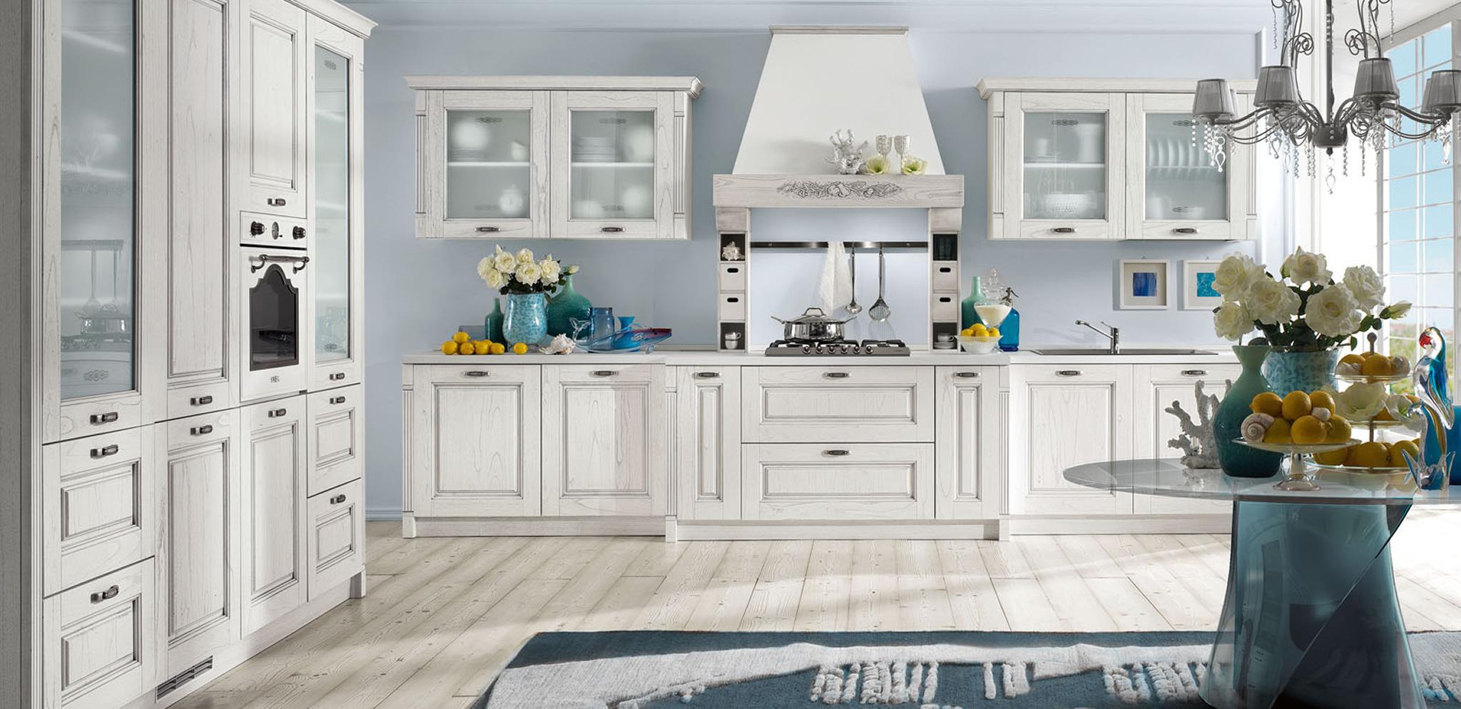 Modele cuisine bois ceruse tout sur la cuisine et le - Cuisine en bois blanc ...