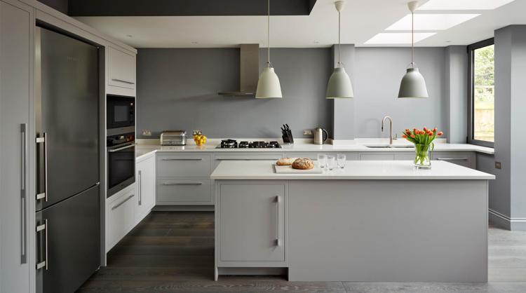 Peinture mur cuisine grise - Tout sur la cuisine et le mobilier cuisine