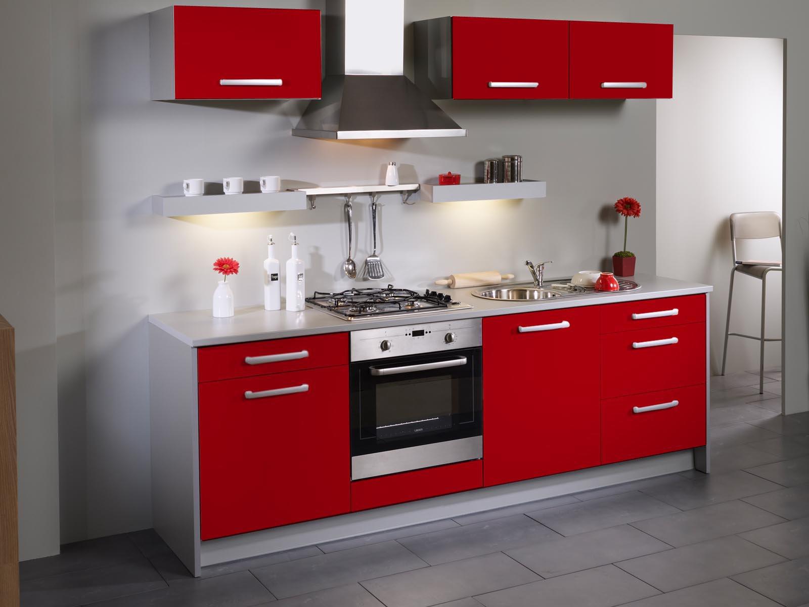 Meuble de cuisine rouge pas cher tout sur la cuisine et le mobilier cuisine - Tout pour la cuisine pas cher ...