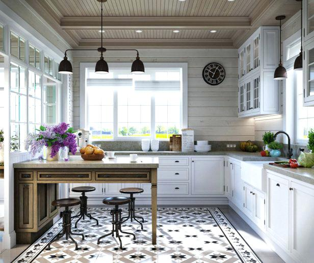 Modele cuisine campagne moderne - Tout sur la cuisine et le ...