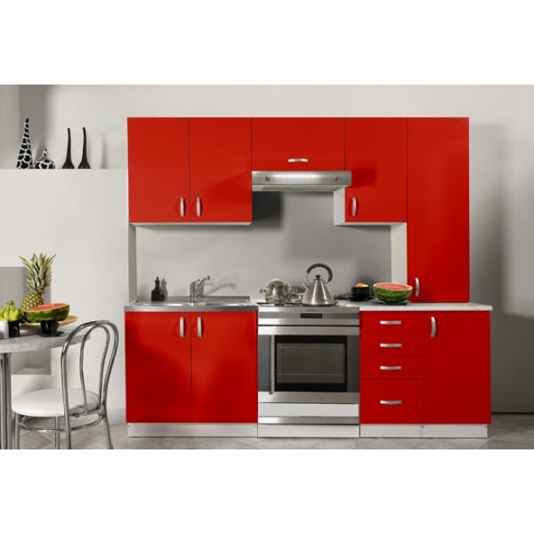 Meuble de cuisine pas cher rouge tout sur la cuisine et le mobilier cuisine - Tout pour la cuisine pas cher ...