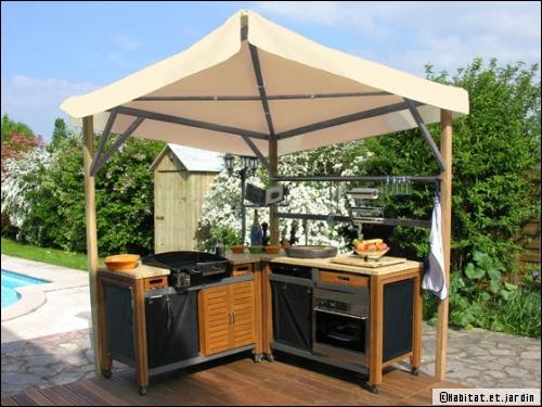 modele cuisine ete exterieure tout sur la cuisine et le mobilier cuisine. Black Bedroom Furniture Sets. Home Design Ideas