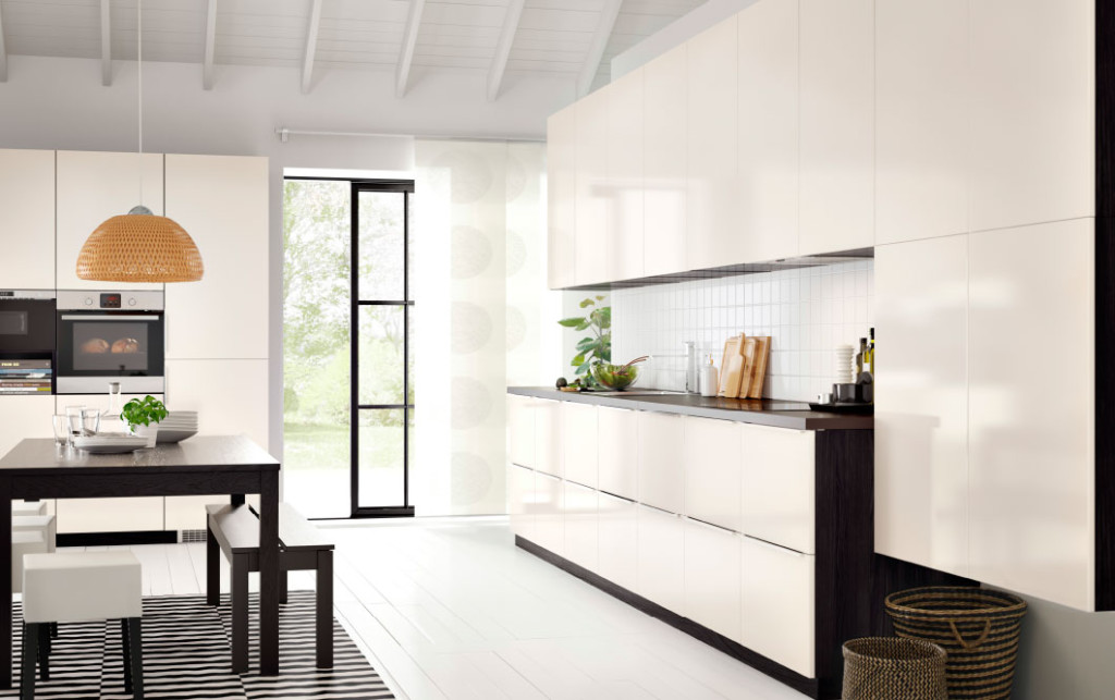Porte cuisine ikea blanche