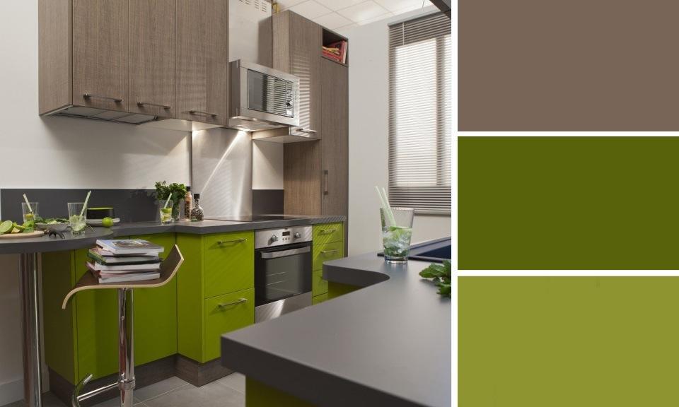 Deco cuisine peinture verte - Tout sur la cuisine et le mobilier cuisine