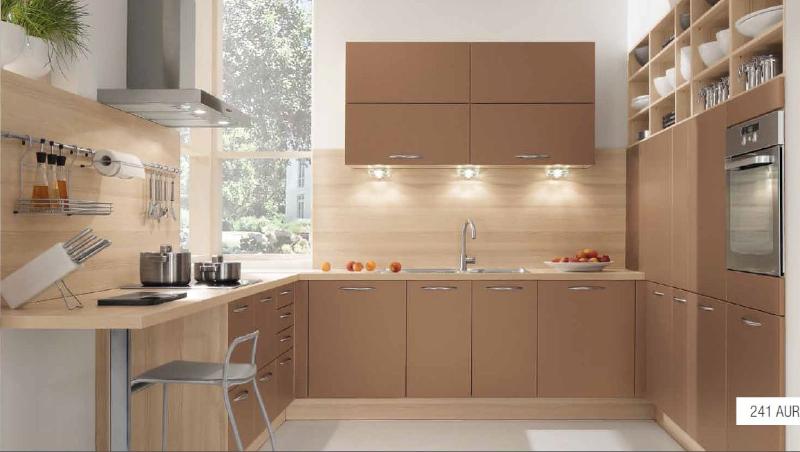 Peinture pour cuisine marron tout sur la cuisine et le mobilier cuisine - Peinture pour cuisine blanche ...