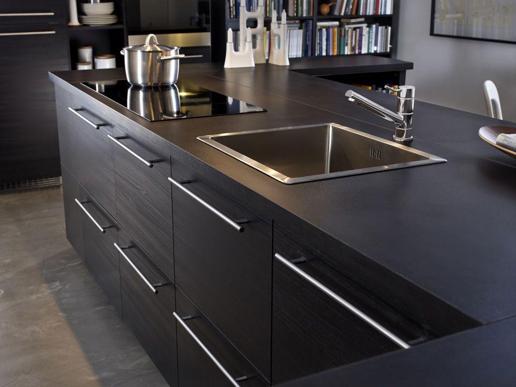 meuble cuisine ikea abstrakt noir tout sur la cuisine et le mobilier cuisine. Black Bedroom Furniture Sets. Home Design Ideas