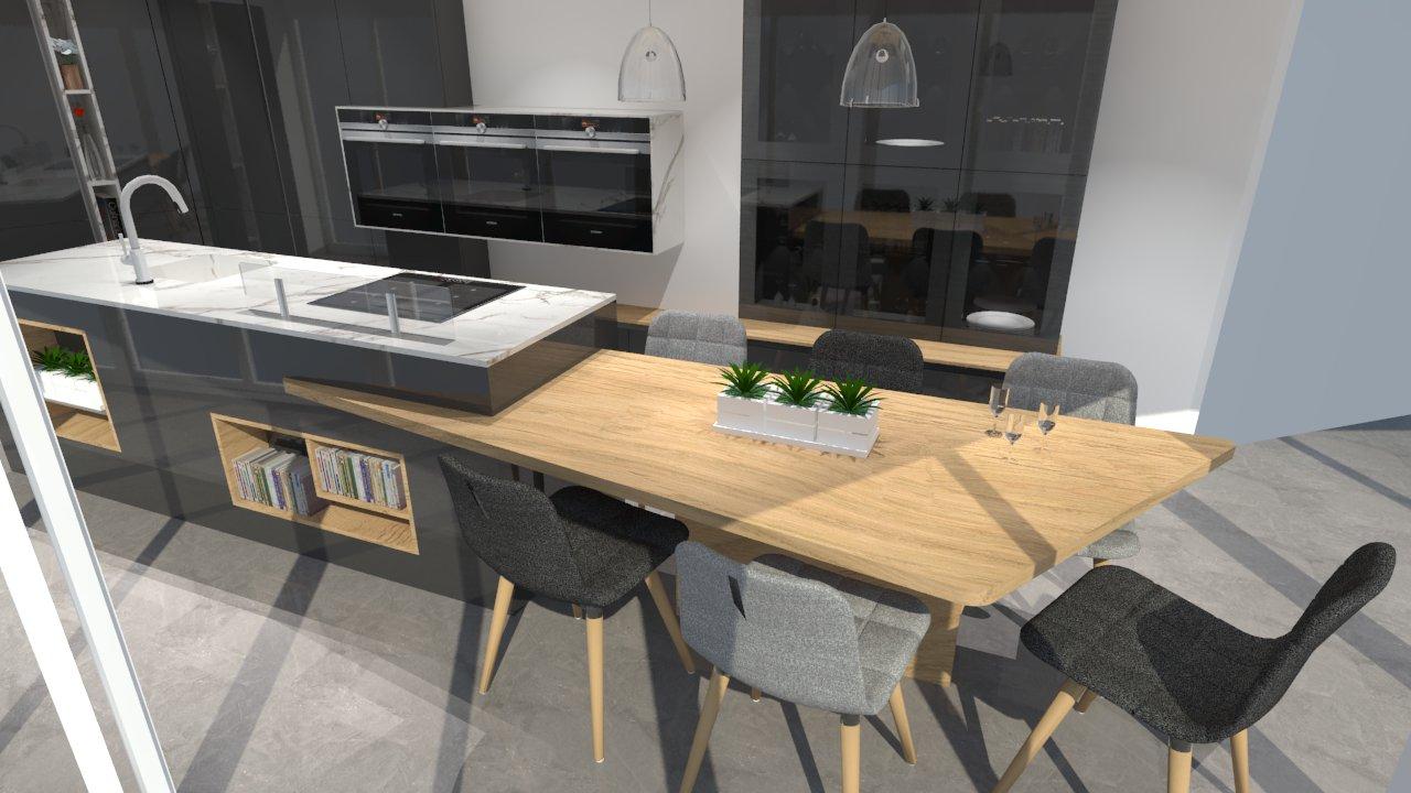 Table de cuisine gris anthracite - Tout sur la cuisine et le ...