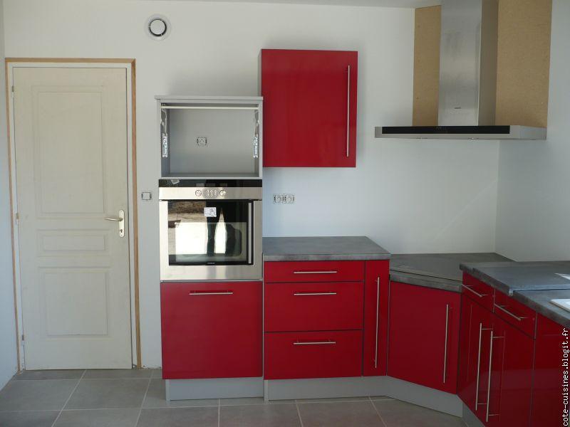 Plan de travail cuisine rouge pas cher - Tout sur la cuisine ...