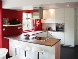 Amazing Cuisine Wenge Et Blanc Idees - Idées de design intérieur ...