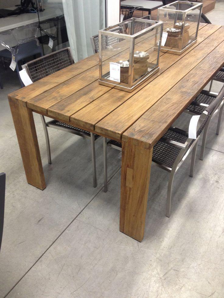 Table de cuisine en bois fait maison - Tout sur la cuisine et le ...