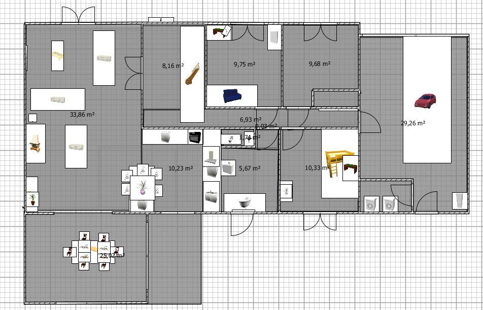 Plan cuisine ouverte gratuit - Tout sur la cuisine et le mobilier ...