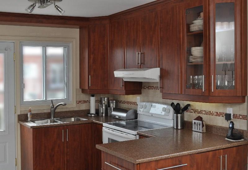 Plan d'armoire de cuisine