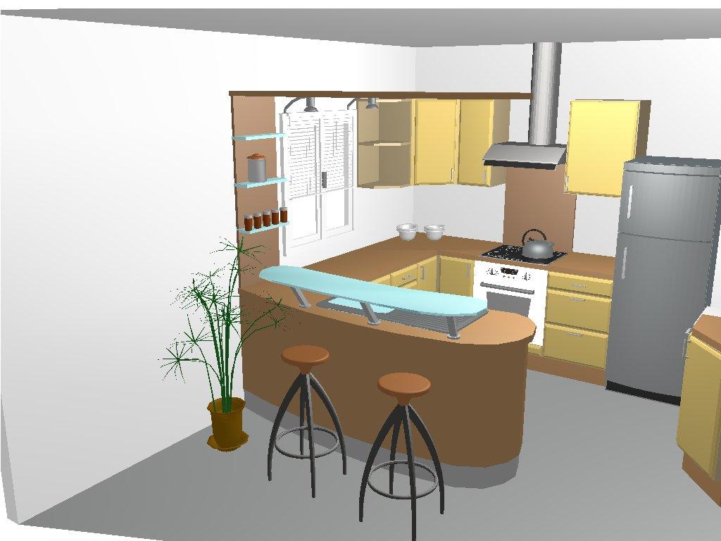 Plan cuisine avec bar - Tout sur la cuisine et le mobilier cuisine