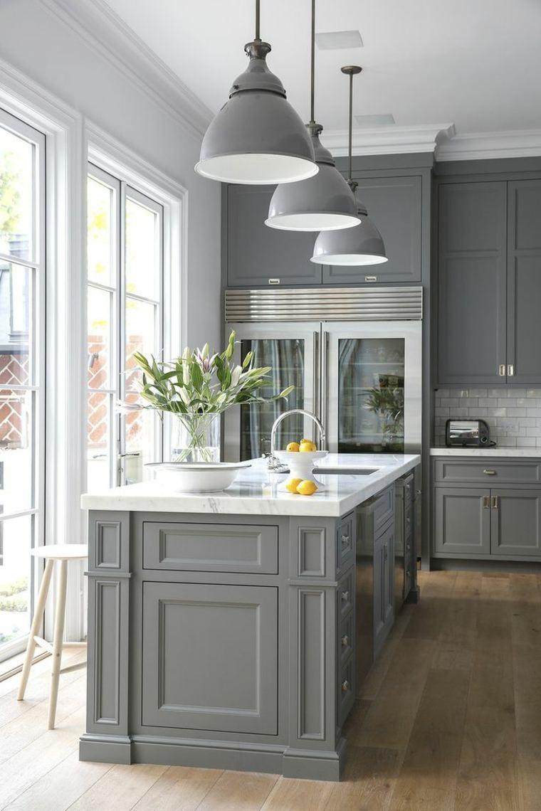 Photo cuisine gris taupe - Tout sur la cuisine et le mobilier cuisine