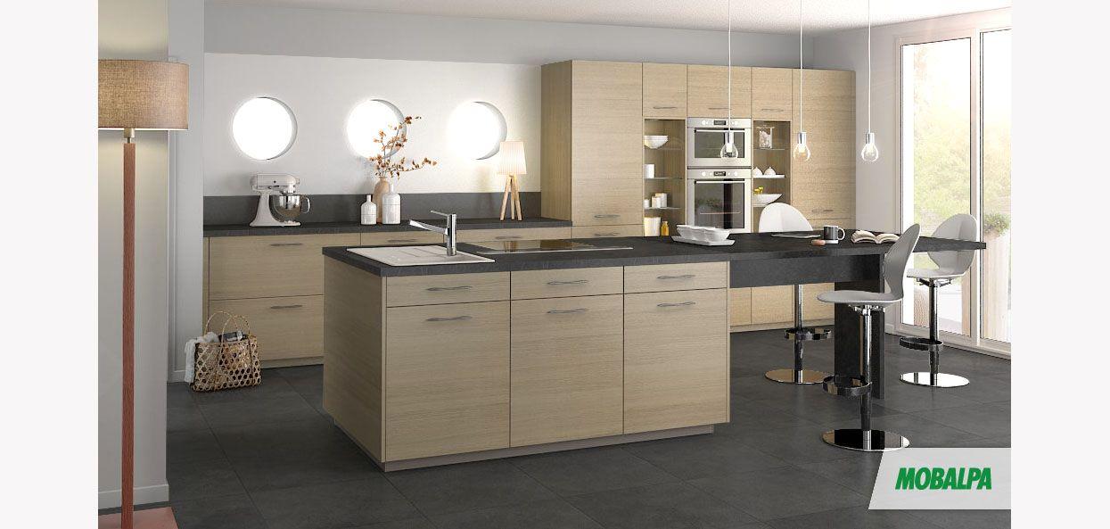 Modele cuisine chene ceruse - Tout sur la cuisine et le mobilier cuisine