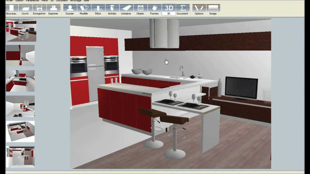 Ikea cuisine 3d suisse