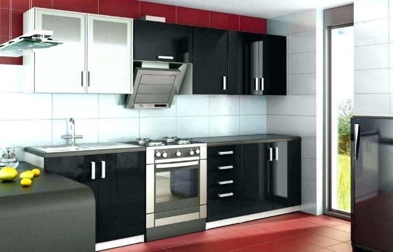 meuble de cuisine noir laqu tout sur la cuisine et le mobilier cuisine. Black Bedroom Furniture Sets. Home Design Ideas