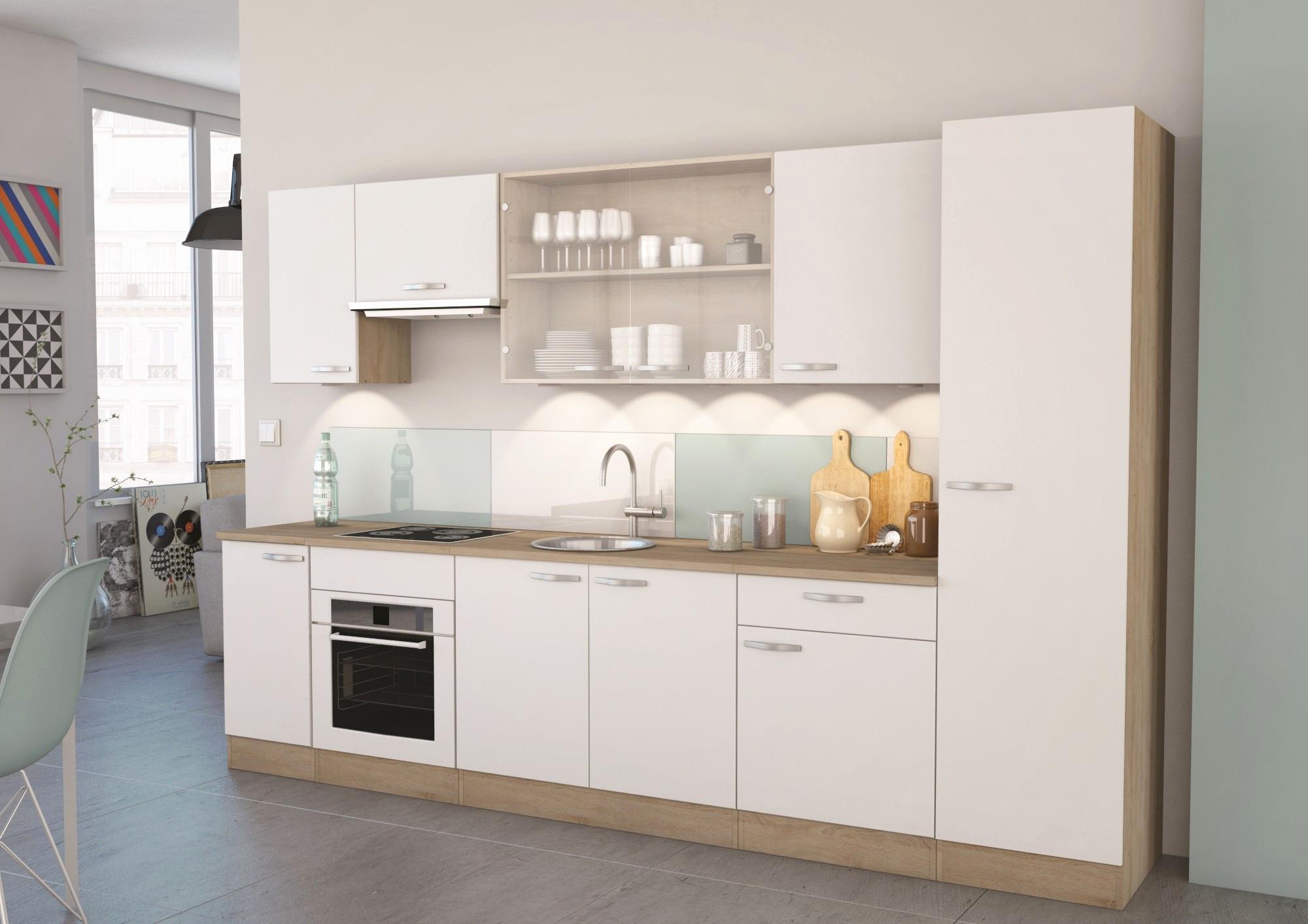 Mobilier de cuisine blanc