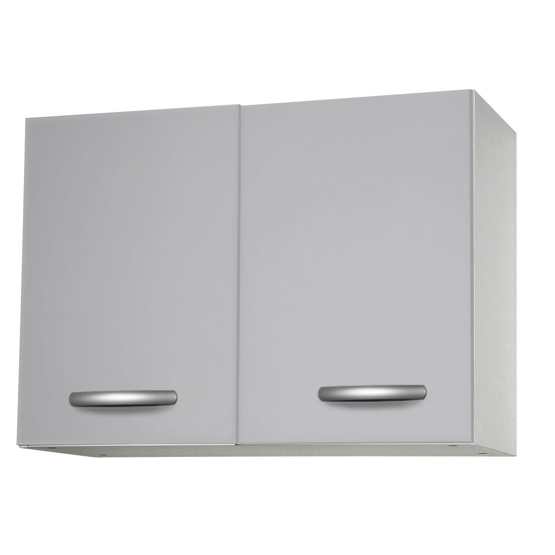 Meuble haut cuisine gris - Tout sur la cuisine et le mobilier cuisine