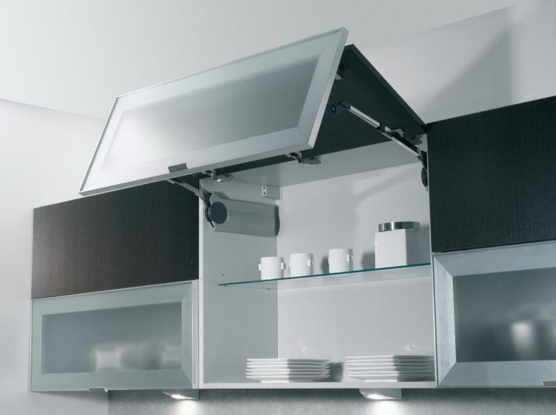 Meuble haut cuisine avec vitre - Tout sur la cuisine et le ...