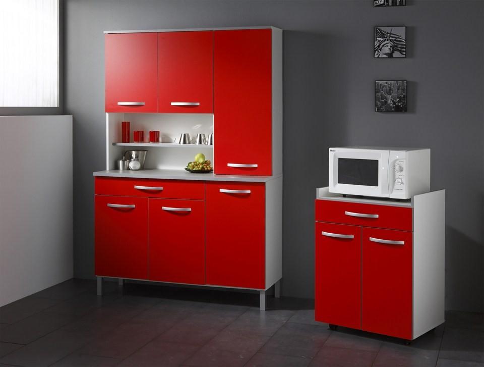 element de cuisine rouge tout sur la cuisine et le mobilier cuisine. Black Bedroom Furniture Sets. Home Design Ideas