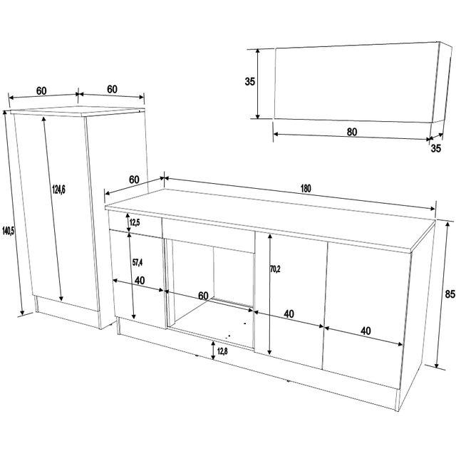 meuble cuisine standard dimension tout sur la cuisine et. Black Bedroom Furniture Sets. Home Design Ideas