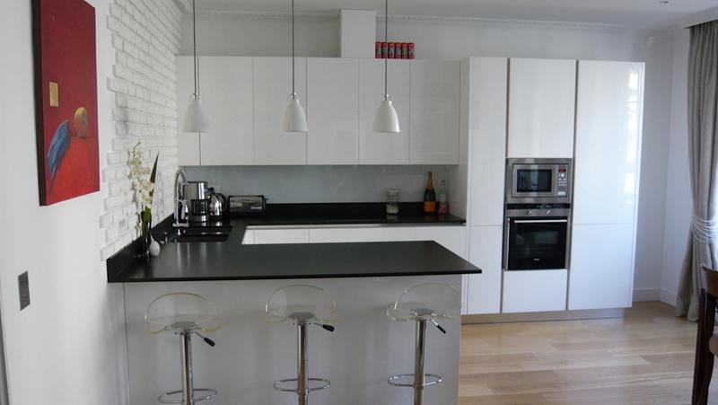 Modele cuisine blanc laqu tout sur la cuisine et le - Modele cuisine blanc laque ...