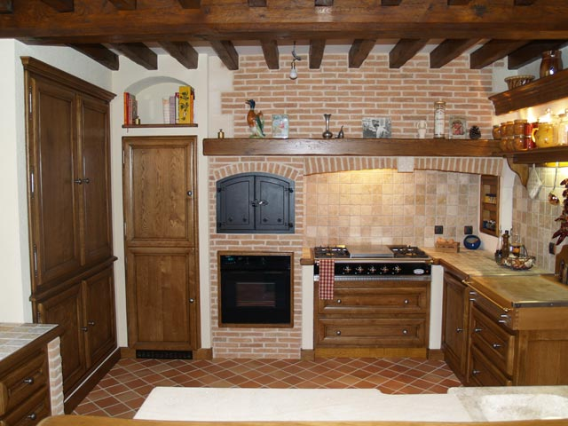 modele cuisine en brique tout sur la cuisine et le mobilier cuisine. Black Bedroom Furniture Sets. Home Design Ideas