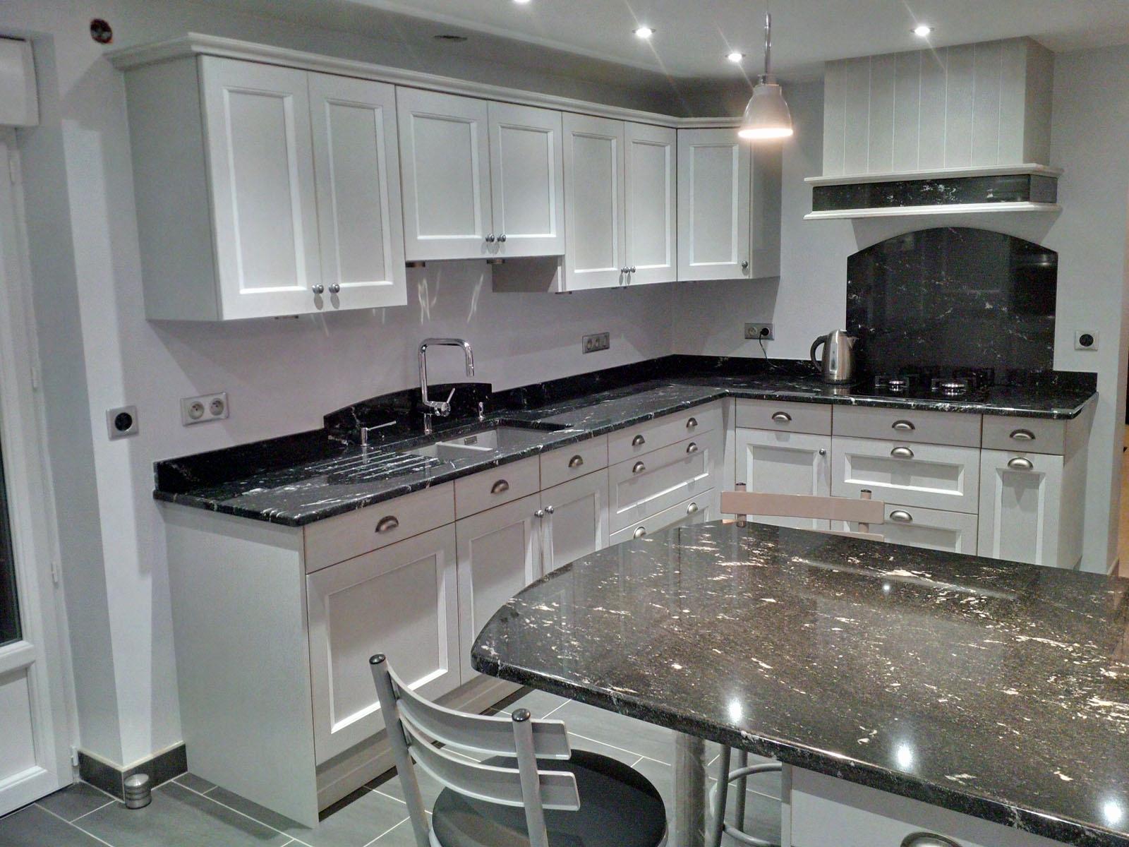 Modele de cuisine en ceruse tout sur la cuisine et le mobilier cuisine - Cuisine blanc ceruse ...
