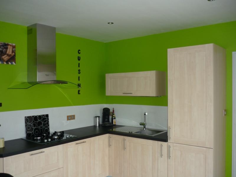 Peinture pour cuisine vert olive - Tout sur la cuisine et le mobilier cuisine