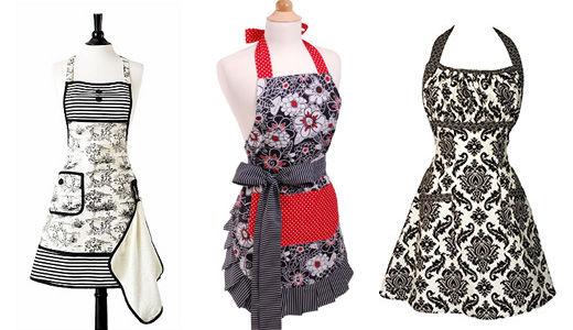 Agreable Patron Couture Tablier Cuisine Vintage
