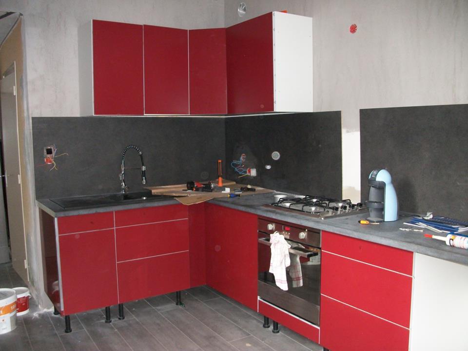 Porte Cuisine Ikea Abstrakt Rouge Tout Sur La Cuisine Et
