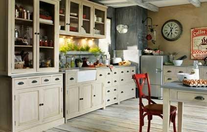 Modèles de cuisine de campagne - Tout sur la cuisine et le ...
