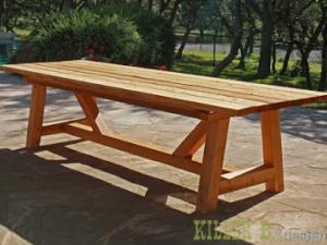Plan De Table De Jardin En Bois.Plan Pour Fabriquer Une Table De Cuisine En Bois Tout Sur