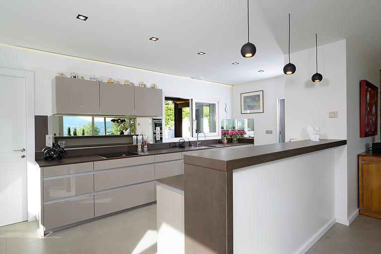 Emejing Modele De Cuisine Americaine Avec Bar 2 Ideas - House Design ...