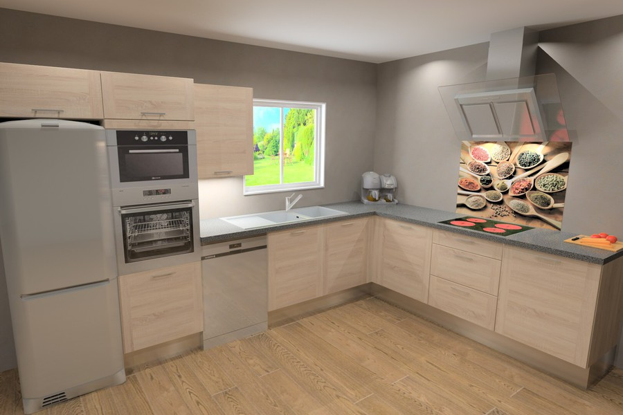 plan type cuisine en u tout sur la cuisine et le. Black Bedroom Furniture Sets. Home Design Ideas